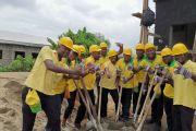 TANTY a participé au chantier de la construction d'un centre multimédia pour les personnes à mobilité réduite